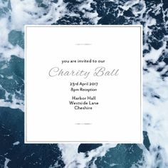 Bring some character to your next Charity Ball with these personalised online invitations. Available exclusively from Envytations.