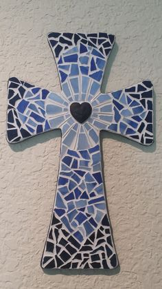 Baptism Cross by StashasCreations on Etsy, $52.00