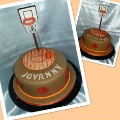 Basketball Cake  Cake by CakesbyGleibis