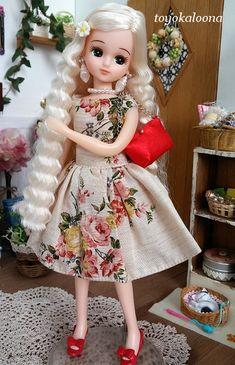 Doll Japan, Ball Jointed Dolls, Beautiful Dolls, Doll Clothes, Harajuku, Look, Girl Fashion, Flower Girl Dresses, Cartoon