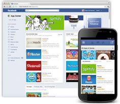 Facebook vai ganhar sua loja de aplicativos, o 'App Center'