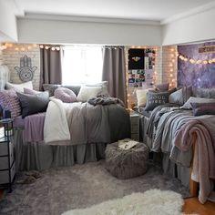 Dorm room decor up all night diy hacks decorating tips gift ideas for guys Bedroom Decor, Dorm Room Designs, College Room, Dorm Inspiration, Room, Room Design, College Bedroom Decor, Dorm Room Necessities, Room Inspiration