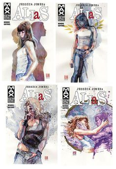 In a city of Marvels, Jessica Jones never found her niche. Now a chain-smoking, self-destructive alcoholic with a mean inferiority complex, she is the owner and sole employee of Alias Investigations - a small, private-investigative firm specialising in superhuman cases.