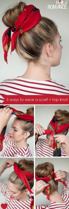 Festival Hair Tutorials - Twist Tie - Short Quick and Easy Tutorial Guides and How Tos for Braids, Curly Hair, Long Hair, Medium Hair, and that Perfect Updo - Great Ideas for That Summer Music Edm Show, Whether It's A New Hair Color or Some Awesome Accessories and Flowers - Boho and Bohemian Styles with Glitter and a Headband - thegoddess.com/festival-hair-tutorials