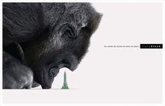 Nanoblock: Gorilla  The smaller the blocks, the better the detail.