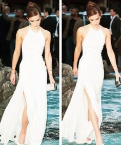 Emma Watson attends the UK premiere of 'Noah' at Odeon Leicester Square on March 31, 2014 in London, England.