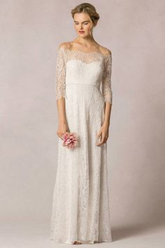 Candela from Jenny Yoo wedding dresses 2016 -This dress has an off-the-shoulder…