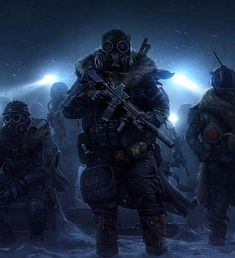 The release of Wasteland 3 was delayed for the end of summer Gas Mask Art, Masks Art, Cthulhu, Emoticon, Armor Concept, Concept Art, Airsoft, Gas Mask Tattoo, Ride Of The Valkyries