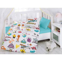 Colourful Baby Duvet Cover Set