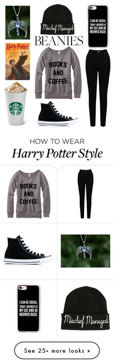 """Lazy Day"" by leovaldezfromthelandofsass on Polyvore featuring Warner Bros., Converse, Casetify and EAST"