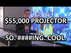 Badass Sony Projector & TV Technology. Seriously BA - CES 2015