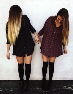 This is us Thevisha, but maybe with pants? Haha