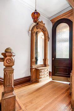 Lafayette Avenue Brooklyn brownstone foyer | by techpro12                                                                                                                                                     More