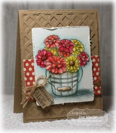 Taylored Expressions June Release Day: Zinnia Bouquet and Lattice Cutting Plate