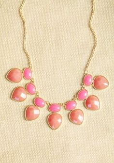 Sweet Like Candy Bib Necklace  #girls #necklace www.loveitsomuch.com