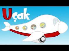 Ü Harfi - ABC Alfabe SEViMLi DOSTLAR Eğitici Çizgi Film Çocuk Şarkıları Videoları - YouTube