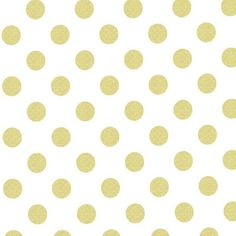 Gold & White Metallic Polka Dot Fitted Crib Sheet  by CozybyJess, $47.00