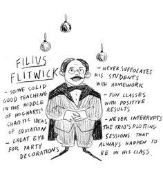 Underappreciated Harry Potter characters: Filius Flitwick