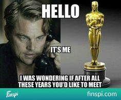 nigdy nie przestanie mnie bawić... #humor #funny #leo #oscar #leonardo di caprio #oskar #mem