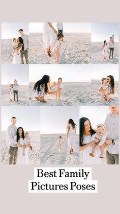 Girl Beach Pictures, Summer Family Pictures, Beach Family Photos, Beach Photos, Family Pics, Family Portrait Outfits, Family Beach Portraits, Family Picture Poses, Beach Picture Outfits