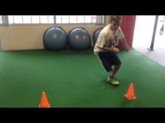 Circuit training for youth hockey players - YouTube