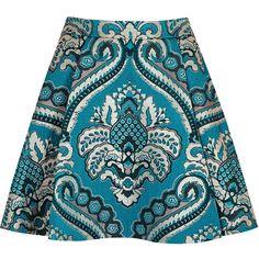 Alice + Olivia Vernon pleated jacquard mini skirt (€430) ❤ liked on Polyvore featuring skirts, mini skirts, alice + olivia, pleated mini skirt, high-waist skirt, jacquard mini skirt, pleated miniskirt and high waisted skirt
