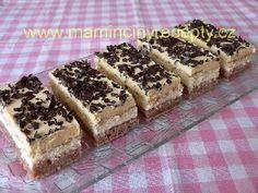 Řezy 3Bit Krispie Treats, Rice Krispies, Sweets Cake, Mocca, Tiramisu, Ethnic Recipes, Food, Cakes, Essen