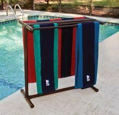 Ideas & Products: PVC towel rack
