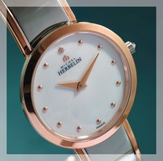Michel Herbelin watch for Her - available at selected Sterns stores Gift Of Time, Vintage Watches, Omega Watch, Watches For Men, Antiques, Leather, Gifts, Accessories, Wristwatches