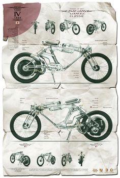 Chicara Art IV - Chicara Nagata Motorcycle Posters.