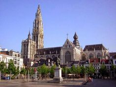 Three archaeological site in Belgium: Abbaye de la Cambre, Anderlecht Beguinage & Antwerp Cathedral ~ Tourism and Landscapes