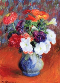The Athenaeum - Flower Study (William James Glackens - )