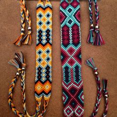 Friendship bracelets. Boho.