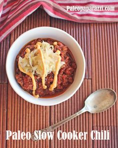 paleo slow cooker chili