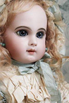 """Depose E.J."" size 12 Victorian Dolls, Antique Dolls, Vintage Dolls, Pretty Dolls, Beautiful Dolls, Vintage Porcelain Dolls, Haunted Dolls, Half Dolls, China Dolls"