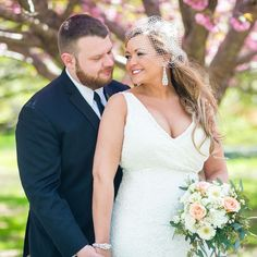 #EmbellishBride Rae looked beautiful on her wedding day! The Yasmeen Collection completed her overall look! Send in your #embellish wedding photos so we can feature you as an #embellishbride #davidtutera