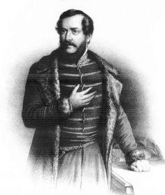 Kossuth Lajos portré
