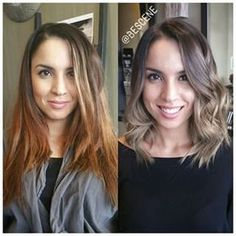 ash balayage short hair - Google Search