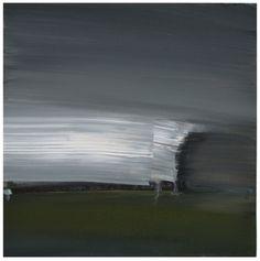 Summer storm, painting by artist Steven P. Goodman
