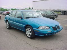 1993 Pontiac Grand Am (my 4th car, & my husband & my 1st car together. Ours was white & was actually a 1994.~Cindy M.)