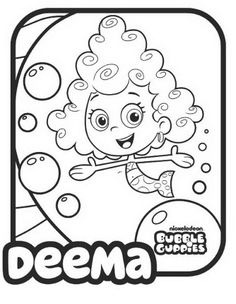baby guppies coloring pages - photo#21