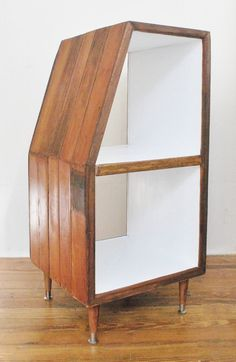 Handmade Record Storage Cabinet Shelving From By Crampdstudio, $350.00