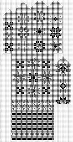 Mustrilaegas: A Kudumine / Knitting Knitted Mittens Pattern, Fingerless Gloves Knitted, Knit Mittens, Knitting Socks, Knitting Charts, Knitting Stitches, Knitting Patterns Free, Crochet Chart, Knit Or Crochet