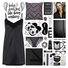 """💤Lazy Day💤"" by ealkhaldi ❤ liked on Polyvore featuring DIVA, Gaia, STELLA McCARTNEY, Balmain, Jaipur, DKNY, CB2, Americanflat, JCPenney Home and GHD"