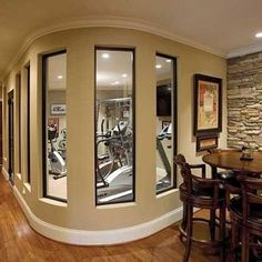 Traditional Home Gym Design, Pictures, Remodel, Decor And Ideas