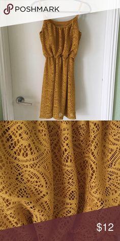 Crotchet dress Beautiful color, Like new, barely worn Dresses Midi