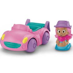 FisherPrice Bubble Guppies Vehicle and Figure Set Molly and Cruiser #bubbleguppies #toys #molly #cars