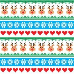 Christmas Knitting, Christmas Cross, Christmas Paper, Card Patterns, Knitting Patterns, Patchwork Patterns, Embroidery Hearts, Vector Shapes, Banner Printing