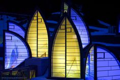 Giant skylights, Tschuggen Grand Hotel spa, Arosa, Switzerland.  Designed by Mario Botta