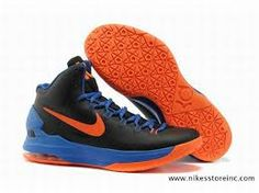 40915475f60ef Buy Latest Listing Black Blue Orange 554988 048 Nike Zoom KD V 5 Basketball  Shoes Shop